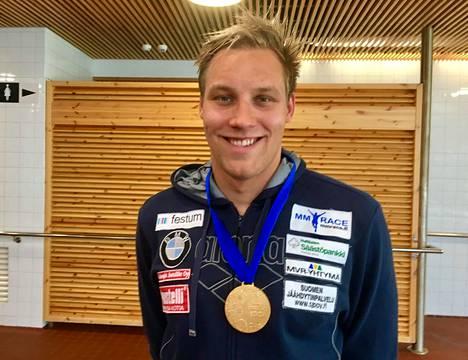 Matti Mattsson, kilpauimari