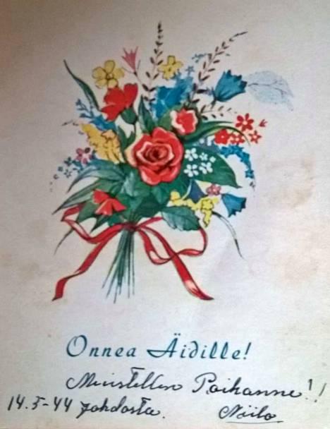 Onnittelut kaikille äideille ja isoäideille!