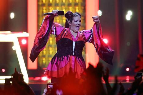 Israelin Netta voitti Euroviisut 2018 Lissabonissa kappaleella Toy. Ensi vuoden viisut ovat Israelissa.