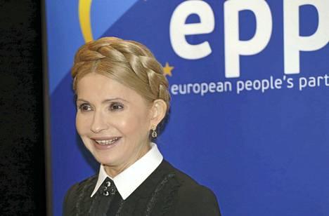 Julia Tymoshenko osallistui Euroopan kansanpuolueen kokoukseen Brysselissä viime vuoden marraskuussa. Ukrainan oma parlamentti Rada on tunnettu rajuista debateista kilpailevien puolueiden välillä.