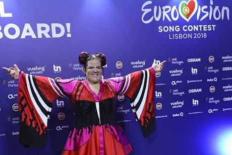Israelin edustaja Netta voitti Euroviisut lauantaina, ja siksi laulukilpailu järjestetään Israelissa vuonna 2019.