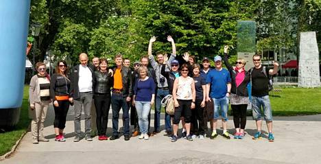 Salzbrugin maraton-tapahtumaan osallistui kaikkiaan 19 juoksijaa Keurusselän Maratoonareista.