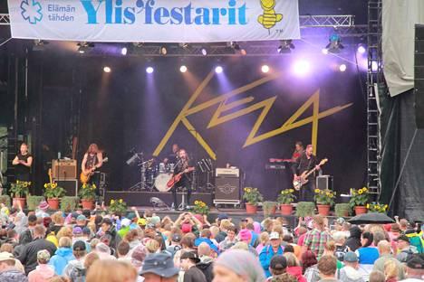 Viime vuonna Ylisfestareilla esiintyi muun muassa Anssi Kela.