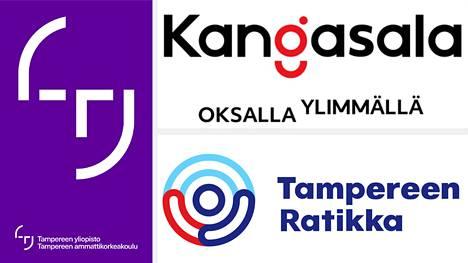 Tampere 3 ja Kangasala hakevat tunnettuutta logolla, johon on istutettu ihmiskasvot, ja ratikka muun muassa kolmella eri värillä.