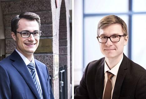 Juha Brotherus ja Olli Kärkkäinen varoittavat asuntosijoittamisen riskeistä.