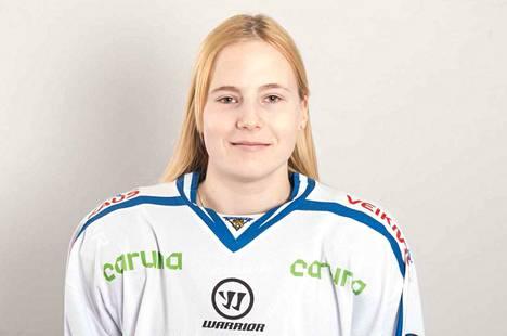 Petra Nieminen on nokialaislähtöinen huippukiekkoilija.