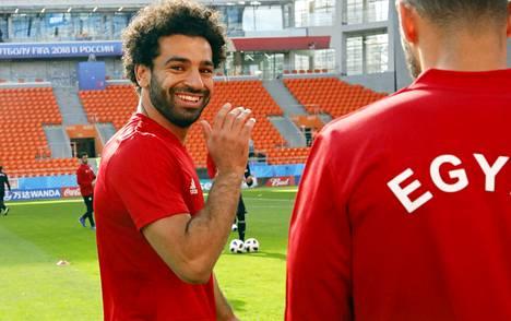 Mohamed Salah on kuin onkin toipumassa olkapäävammastaan pelikuntoon.