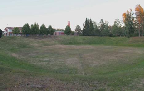 Lukijaa kiinnostaa tietää, että voitaisiinko Kankaanpään monttuun saada samanlainen areena kuin Haminan Bastionissa.