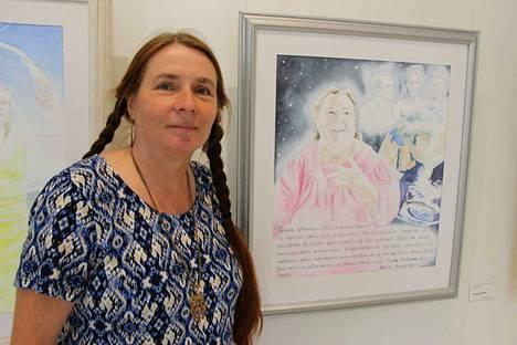 Reija Tähtinen ja hänen työnsä Ihmisyyden tunnustajien perustajasta ja henkisestä äidistä Marjatta Horjanderista.