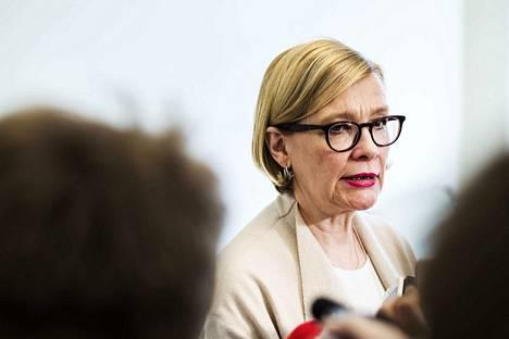 Eduskunnan puhemies Paula Risikko saapuu Janakkalaan perjantaina.