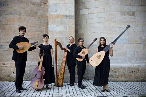 Concerto di Margherita -yhtye esiintyi ensi kertaa Sastamalassa.