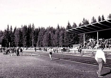 Mäntänvuoren kentällä oli toimintaa 60-luvulla.