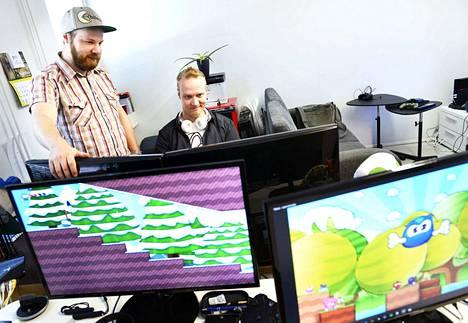 Bitecore -yrityksen Antti Meriläinen ja Ari Ruotsalainen unelmoivat pitkään pelien tekemisestä. Bounce Rescue on Bitecoren ensimmäinen julkaistu peli.