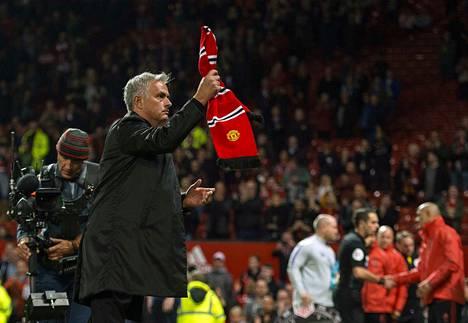 Manchester United kärsi maanantai-iltana Jose Mourinhon valmentajakauden isoimman kotitappionsa.