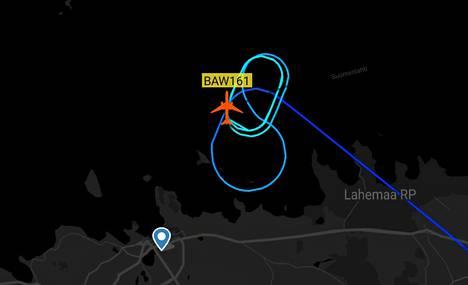 British Airwaysin lento lähti Lontoosta maanantaina kello 22.40, ja sen oli määrä laskeutua Shanghaihin tiistaina kello 17. Kone joutui kuitenkin tekemään hätälaskun Helsinki-Vantaalle.