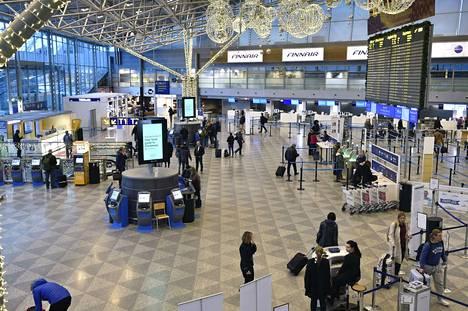 Virukset tarttuvat herkästi lentoasemalla, selvisi Helsinki-Vantaan lentoasemalla tehdyssä tutkimuksessa.