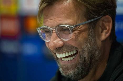 Jürgen Kloppin mielestä Liverpool ei ole suosikki PSG:tä vastaan.