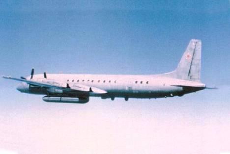 Maanantai-iltana kadonnut Iljusin-kone on mallia IL-20. Koneessa oli 14 henkilöä.