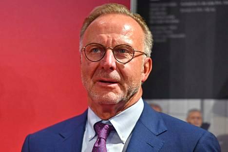 Karl Heinz Rummenigge moittii muista joukkueita tavasta, joilla ne pelaavat Bayernia vastaan.