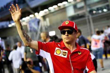Kimi Räikkönen tekee myös Sauberista seuratun tallin.