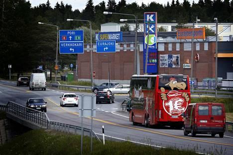 Eurajoen suunnitelmissa on laajentua valtatie 8:n toiselle puolen Verkkokarin suuntaan.