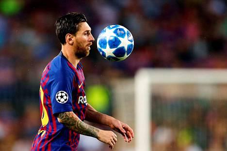 Lionel Messillä on koossa 103 maalia mestarien liigassa.