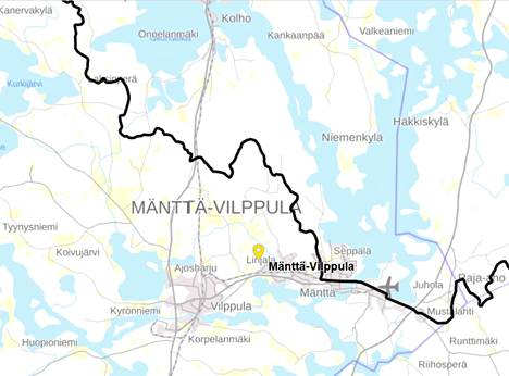 Kuoreveden-Ruoveden kalastusalueen raja kulkee Mänttä-Vilppulan ja Keuruun kuntarajan mukaan Keurusselällä. Ensi vuoden alusta raja siirtyy Mäntänkoskelle, minkä seurauksena Keuruun kalastusalue laajenee kattamaan koko Keurusselän.