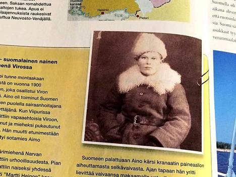 Aino Mälkönen on yksi virolaisten Suomi-galleriassa olevista suomalaisista. Hänen nimensä lienee Virossa tunnetumpi kuin Suomessa.