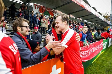 Tammelan sankari oli lauantaina TPV:n Tomi Ylinen, joka laukoi kotijoukkueen voittomaalin MyPan verkkoon.