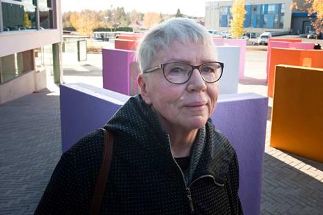 Sirpa Joenniemi on seurannut Kaarina Kaikkosen uraa läheltä jo vuosikymmenet. Kuvataideintendentistä on hienoa, että taiteen merkitys alueen arvonnostajana on viimein ymmärretty.