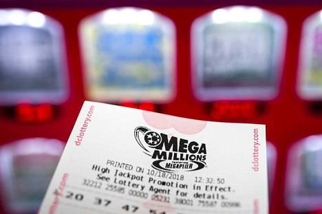 Mega Millions -lotto arvotaan tiistaisin ja perjantaisin kello 23 itärannikon aikaa.