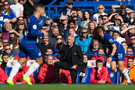 Jose Mourinho palasi vanhalle kotistadionilleen, eikä siitä selvitty ilman kohua.