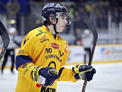 Lukon Ville Heinola valittiin nuorten MM-leiriryhmään 15. joulukuuta Vancouverissa alkaviin kisoihin.