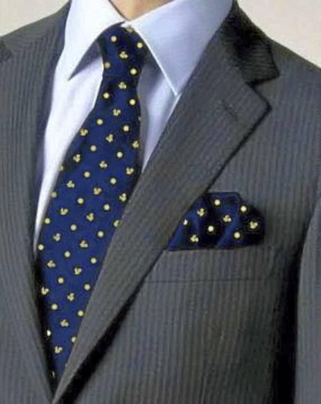 Markuilla on oma solmionsa.