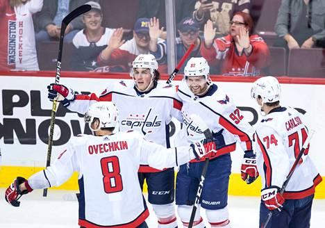 Washington Capitals on ollut alkukaudesta NHL:n runsasmaalisin joukkue.