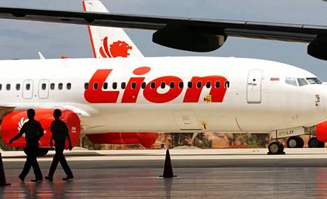 Lion Air -lentoyhtiön matkustajakone on syöksynyt mereen. Koneessa oli 189 ihmistä.