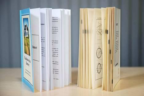 Pokkarit ja muut pehmeäkantiset kirjat paperinkeräykseen.