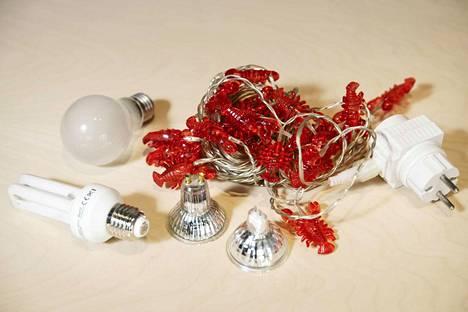 Jouluvalot ja muut valaisimet ovat sähkölaitteita.