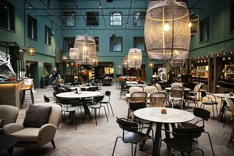 Scandicin ravintolatila on ainoalaatuinen Tampereen mittakaavassa.