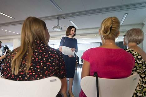Opetusministeri Sanni Grahn-Laasosen (kok.) mukaan kokoomuksen ajatuspajan Toivon tuki jää saamatta ensi vuonna.
