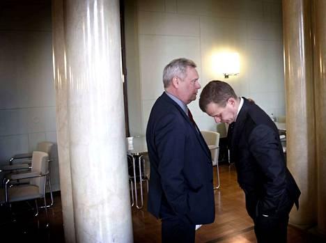 Seuraavan hallituksen voimahahmot? Jos näillä kannatusluvuilla mennään vaaleihin, Antti Rinne ja Petteri Orpo ovat avainasemassa seuraavan hallituksen kokoonpanon suhteen.