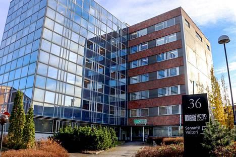 Tampereen verotoimisto sijaitsee Hatanpään valtatien varrella.
