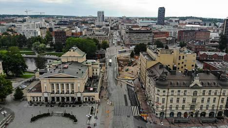 Tampereella toimivat yritykset maksavat yhteisöveroa vuoden 2017 verotietojen perusteella yhteensä noin 197 miljoonaa euroa. Koko summa ei kuitenkaan päädy Tampereen kaupungille.