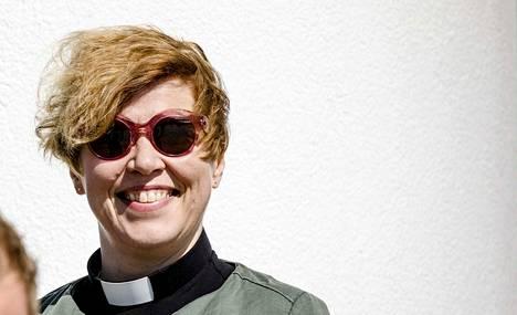 Espoon hiippakunnan uusi piispa on Kaisamari Hintikka.