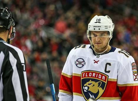 ...ja Aleksander Barkov ovat Suomen suurimpia NHL-tähtiä, joista kotikaupunki Tampere voi olla ylpeä.