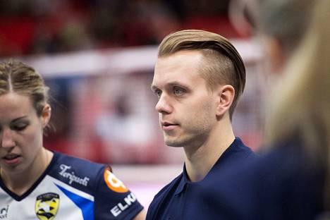 Arttu Keränen on valmentanut LP Kangasalan kovaan iskuun kauden alussa.