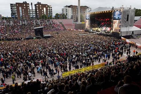 Ratinassa järjestetään taas ensi kesänä stadionkeikka. Vuonna 2015 stadionin täytti Nightwishin keikka.
