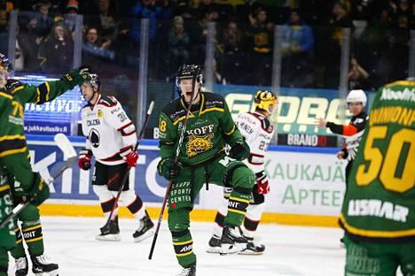 Joose Antonen on tehnyt Ilvekselle jo yhdeksän maalia tällä kaudella.