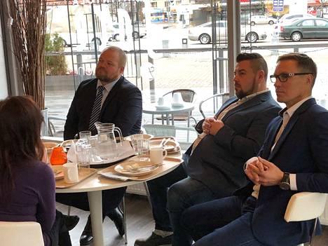 Kokoomuksen puoluesihteeri Janne Pesonen kertoi Mikko Korpelalle ja Kari Kähköselle, että tulevissa vaaleissa kampanjoidaan entistä enemmän kohdennetulle yleisölle.