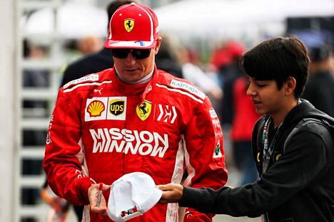 Kimi Räikkönen on kovempien rangaistusten kannalla.